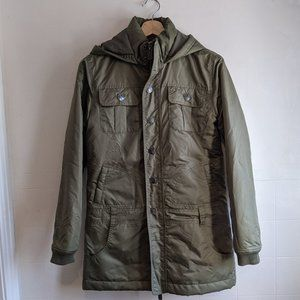 O'Neill Olive Green Coat Quilted